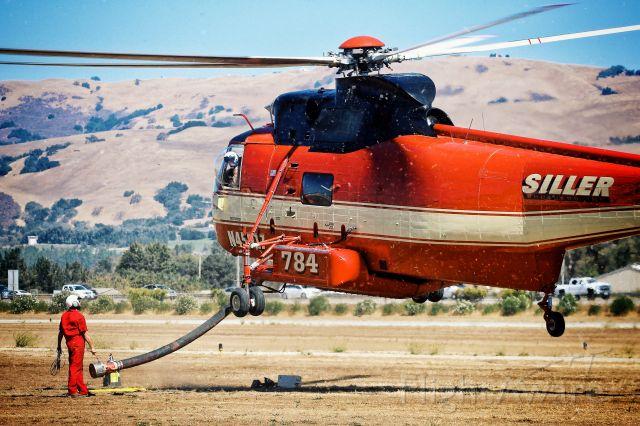 Sikorsky Sea King (N45917) - Throwback to fire season