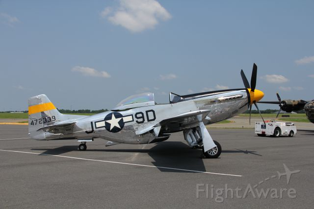 North American P-51 Mustang (47-2339)