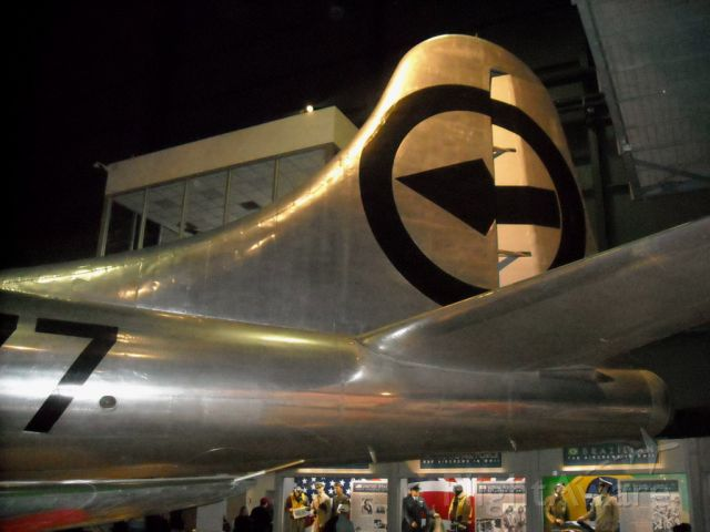 N4427297 — - The huge empanage of the B-29D.