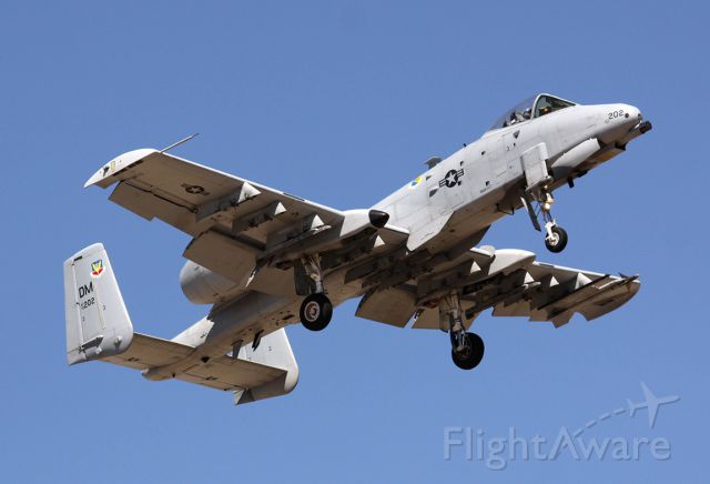 Fairchild-Republic Thunderbolt 2 (79-0202) - Luke USAF Arizona