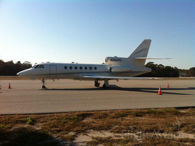 Dassault Falcon 50 (N865PC)