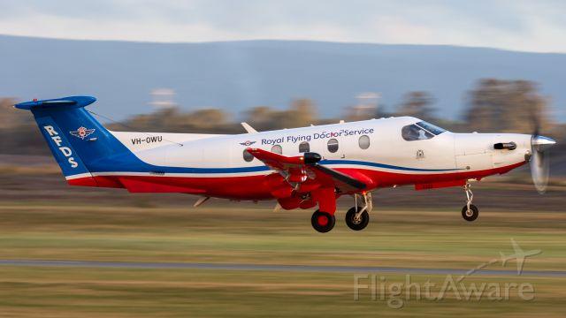 Pilatus PC-12 (VH-OWU)