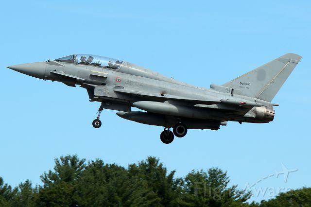 MM55092 — - Italian Air Force Eurofighter EF-2000T Typhoon arriving on 34