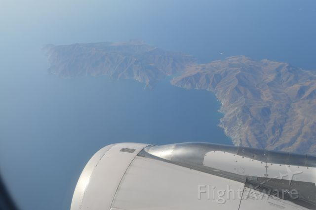Airbus A320 — - Channel Islands, Takeoff from SNA bound for SFO.