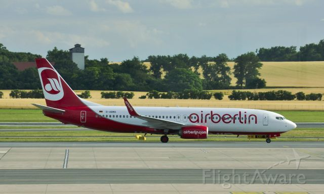 Boeing 737-800 (D-ABMS) - Air Berlin Boeing 737-86J(WL) D-ABMS in Vienna