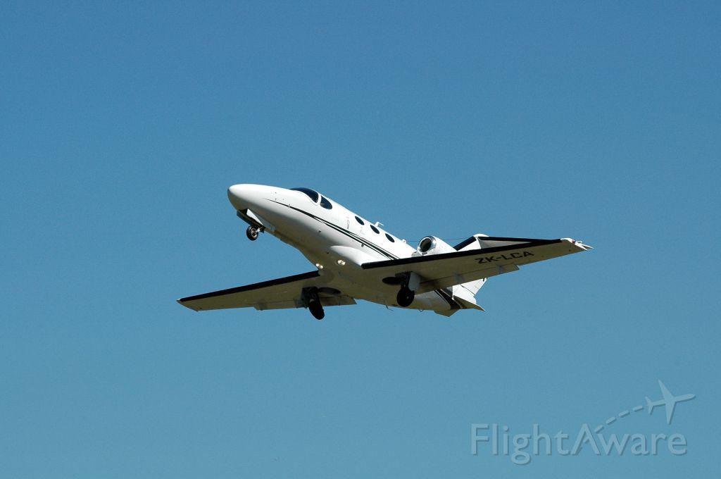 Cessna Citation Mustang (ZK-LCA) - aT hASTINGS