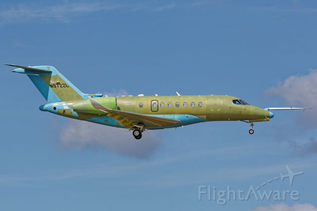 Cessna Citation Longitude (N9722L)