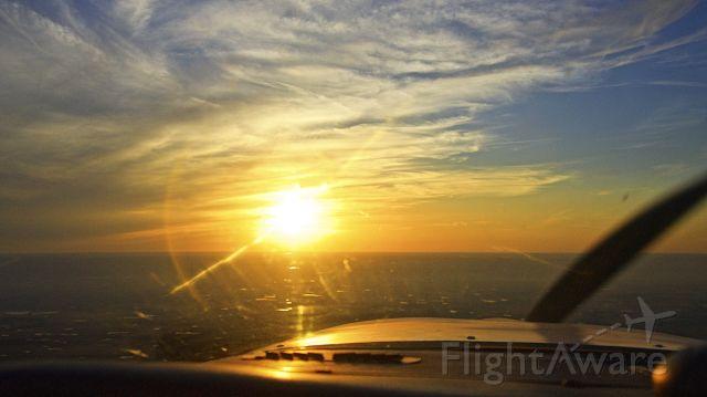 Cessna Cardinal (N18739) - Cardinal Sunset