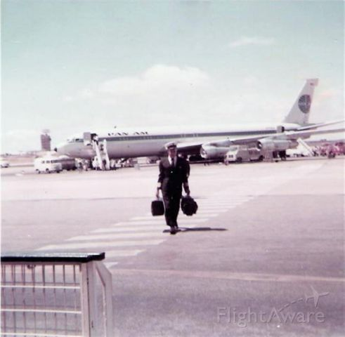 Boeing 707-100 — - Lisbon Bag Drag circa early 60