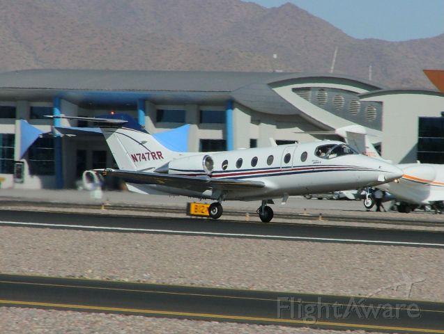 Beechcraft Beechjet (N747RR)