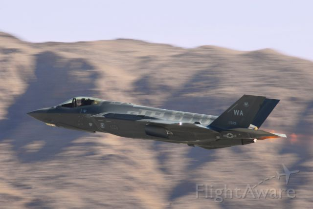 Lockheed F-35C (15-5119) - F-35A taking off from Runway 03L at Aviation Nation 2017. For some reason, the colors are off and the quality of this photo has been reduced after uploading.