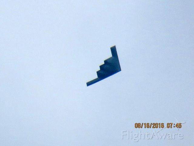 Northrop Spirit (88-0332) - Flying down the Kansas Missouri State Lines.