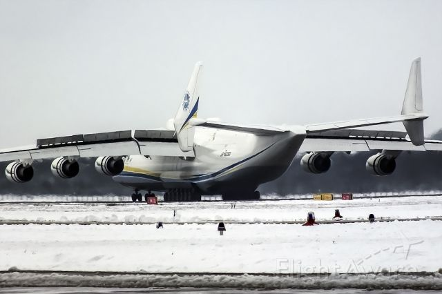 Antonov An-225 Mriya (UR-82060) - An-225 visited Ostrava, Mosnov in january 2015 after 26 years.