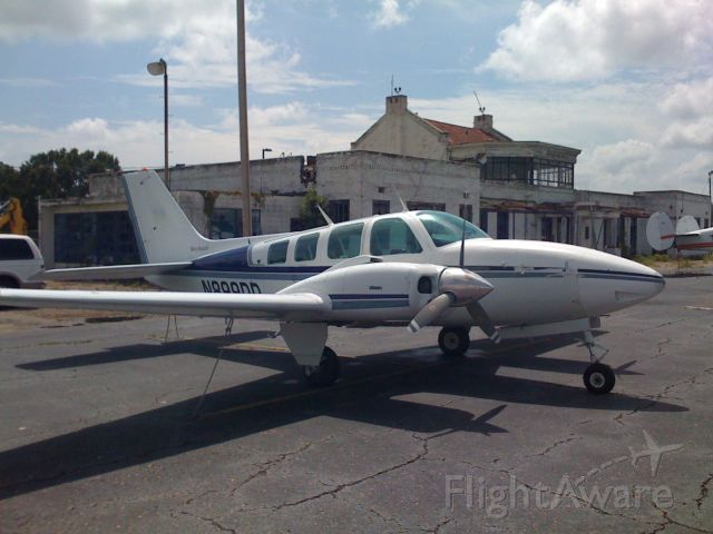 Beechcraft 35 Bonanza (N899DD) - Jim Hankins Air Service BE 58 Barron
