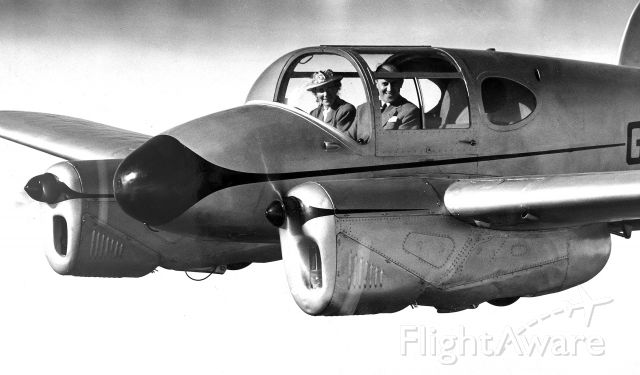 MILES M-65 Gemini (G-AKDC) - This was the aircraft that won the 1949 British King