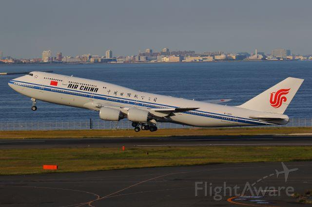 BOEING 747-8 (B-2480) - 2018/05/10 Dep-HND To-CTS