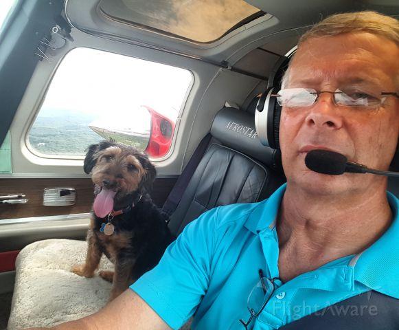 Piper Aerostar (N90509) - Landing checklist complete Sir.