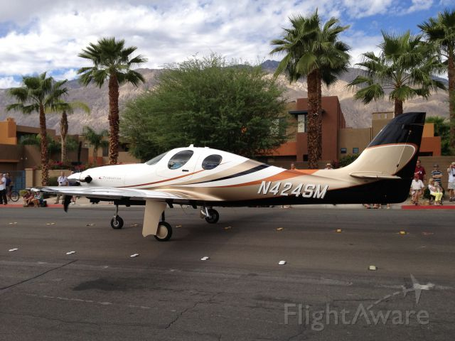 Lancair Evolution (N424SM) - AOPA Parade of Planes - Palm Springs