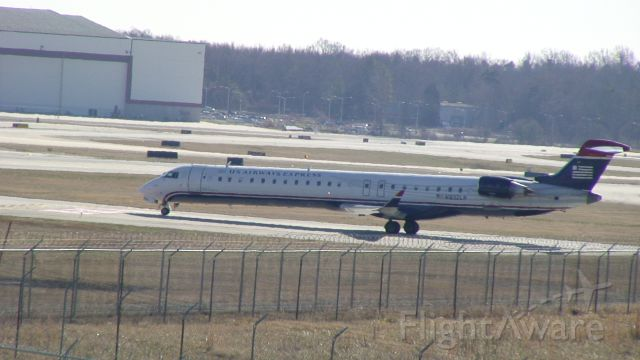 Canadair Regional Jet CRJ-900 (N932LR) - This photo was taken at the Charlotte Airport Overlook.