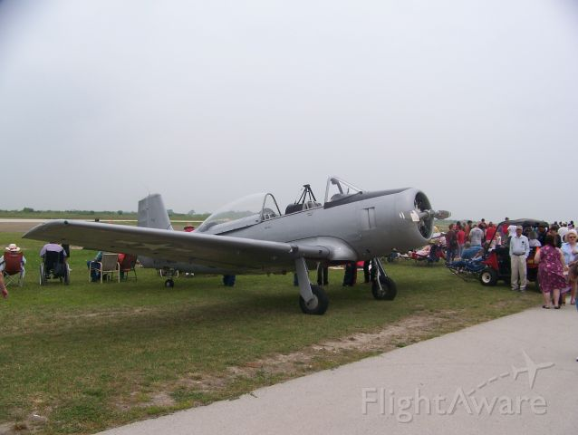 N5726 — - The only remaining Fairchild XNQ-1, still flying today.