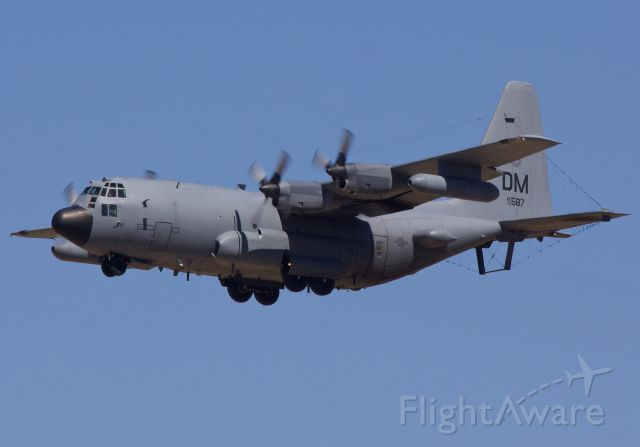 """Lockheed C-130 Hercules (73-1587) - EC-130H Compass Call returning to her home base at Davis-Monthan AFB (Please view in """"Full"""" for best image quality)"""