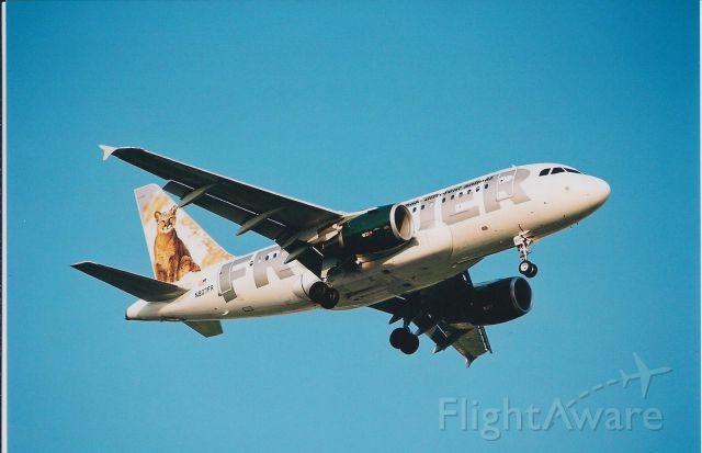 Airbus A318 (N807FR)