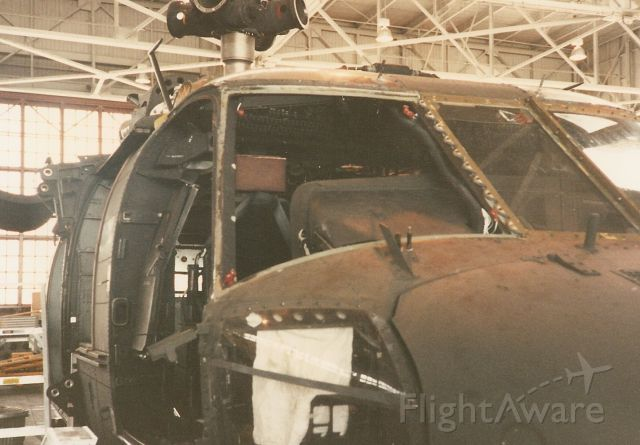 N23557 — - This is a Blackhawk UH60 helicopter in for 500 hr. inspection. I removed co-pilot windshield for replacement.  NAS Jacksonville Fl.
