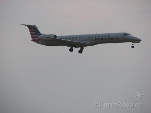 Embraer ERJ-145 (N602AE) - American eagle flight 2680 arriving from Waco, TX