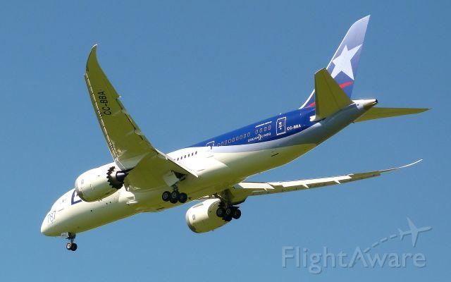 Boeing 787-8 (CC-BBA) - La llegada del primer Dreamleaner a Ezeiza