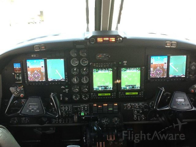 Beechcraft King Air 90 (N325WR) - After the upgrade