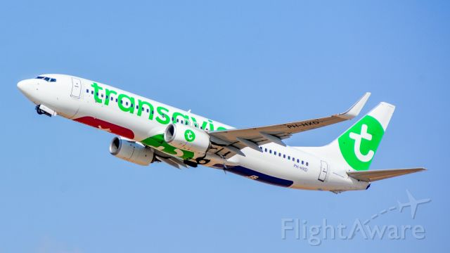 Boeing 737-800 (PH-HXD) - departing TLV from runway 26