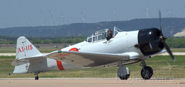North American T-6 Texan (N11171) - Toras heading out for their show