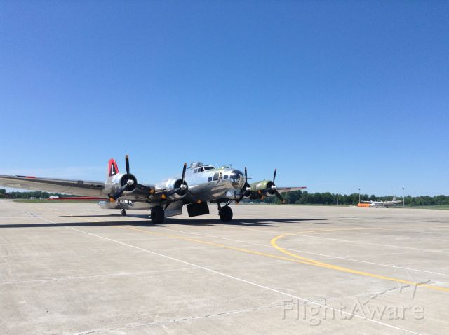 Boeing B-17 Flying Fortress — - B17 at Indy