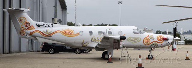 Pilatus PC-12 (M-ICKY)