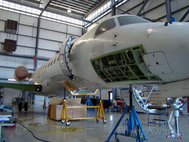 Embraer ERJ-135 — - EMB-135 skin change. Also doing shuttle conversion.