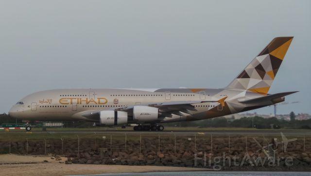 Airbus A380-800 (A6-APC) - EY454 Arriving RWY34L From Abu Dhabi