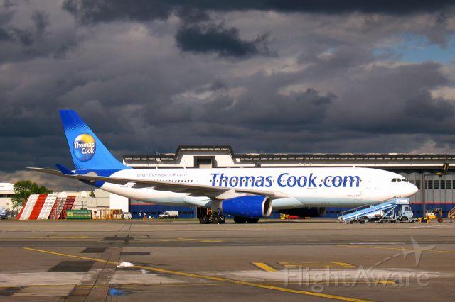 Airbus A330-200 (G-MDBD) - Thomas Cook Airbus A330-243 G-MDBD in Glasgow International Airport