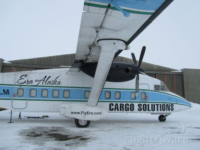 Short 330 (N168LM) - ERA's sherpa with a heavy load, bringing a car to PABA!