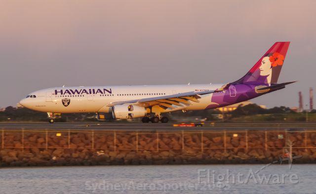 Airbus A330-200 (N378HA) - Hawaiian Airlines (N378HA) Airbus A332 Arriving 34L From Honolulu