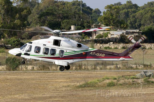 AgustaWestland AW189 (A7-GAB)