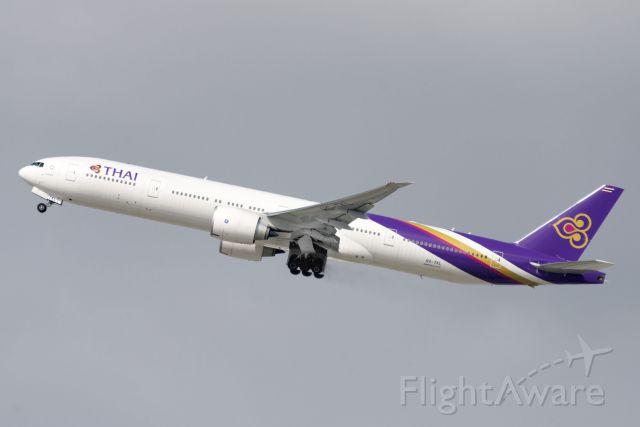 BOEING 777-300 (HS-TKL) - HS-TKL  Boeing  B777-3AL(ER)  THA  KLAX  20130305  4565