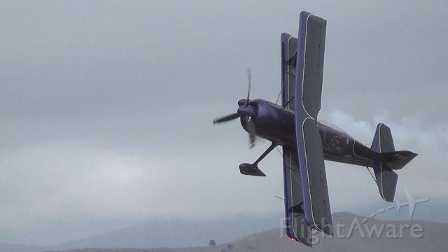 ZK-PTS — - Low pass, Omaka Airshow. Pitts Model 12.