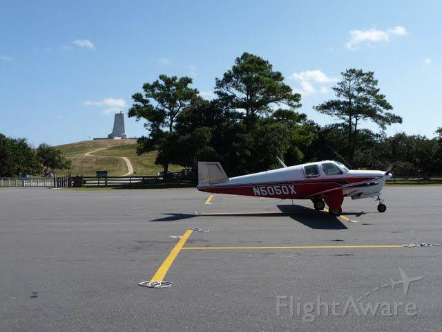 Beechcraft 35 Bonanza (N5050X) - N5050X at First Flight Airport, NC