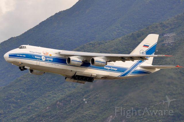 Antonov An-12 (RA-82043) - The aircraft type should be An-124
