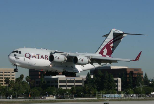 A7-MAB — - landing on rwy 30 at Long Beach