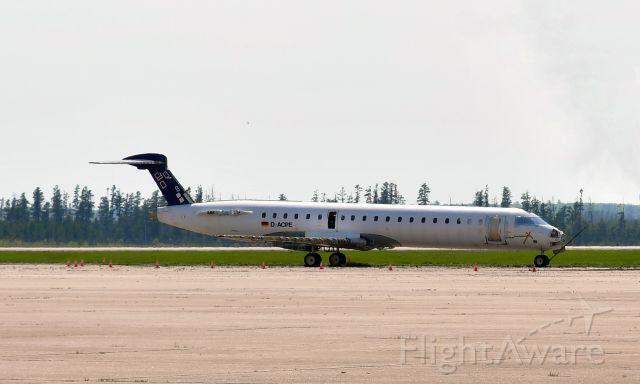 Canadair Regional Jet CRJ-700 (D-ACPE) - Lufthansa CityLine Bombardier CRJ-701ER D-ACPE in Marquette, MI