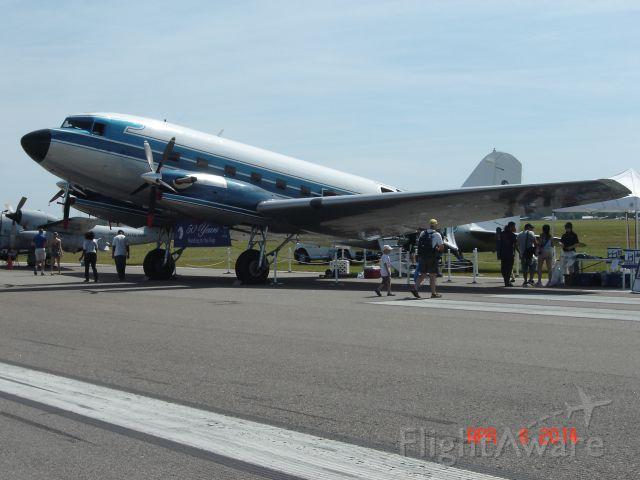 Douglas DC-3 (turbine) (N500MF) - DC-3C-TP S/N 27047 SUN n FUN 2014