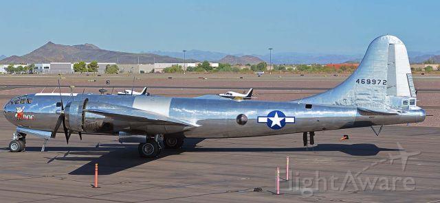 Boeing B-29 Superfortress (N69972) - Boeing B-29 Superfortress N69972 Doc at Phoenix Deer Valley Airport on September 17, 2019.