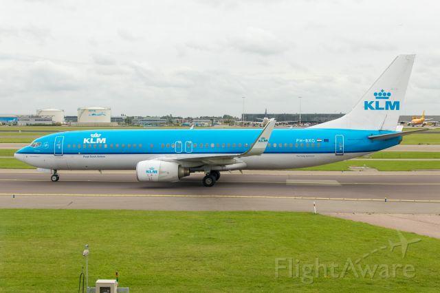 Boeing 737-800 (PH-BXG) - 18.08.2017