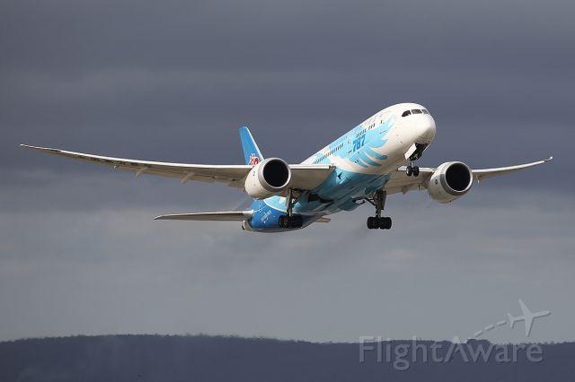 Boeing 787-9 Dreamliner (B-2735) - Departing Perth airport in Western Australia